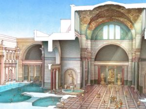 Reconstitution des Thermes de Caracalla