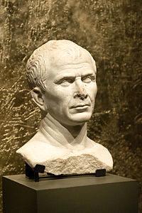 Buste présumé de Jules César