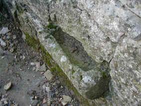 Évier en pierre du Don de l'eau