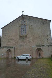 Abbaye de Sylvanes - façade ouest