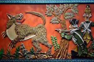 Loup-garou, meneur de loup, diable revêtu d'une peau de loup, et autres créatures fantastiques locales...