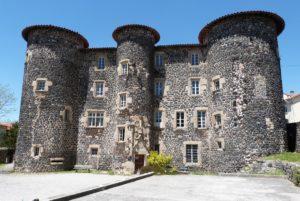 Le château de Monastier sur Gazeille
